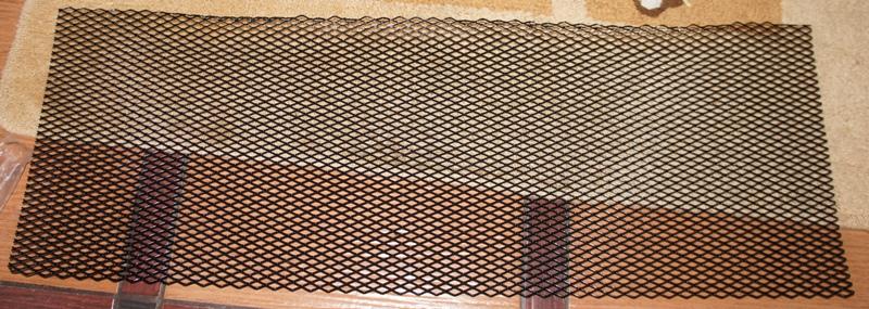 Защитная сетка радиатора своими руками